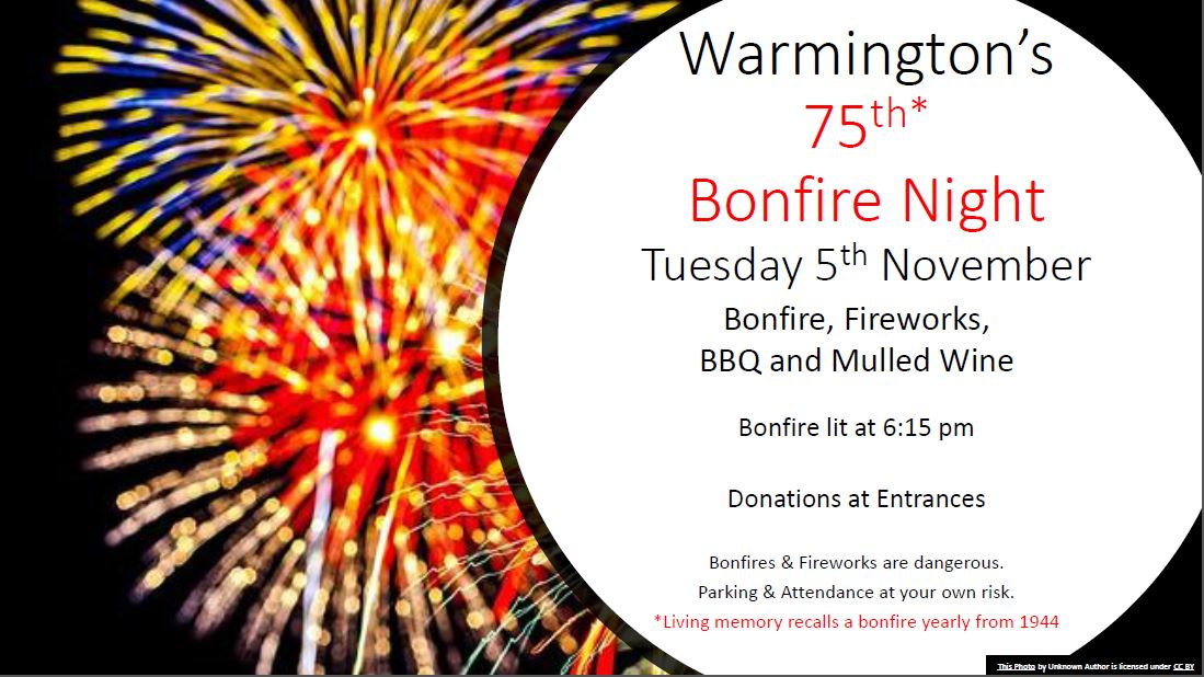 Bonfire night 75 2019