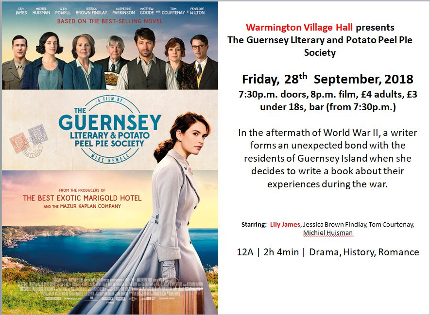 Film night Guernsey