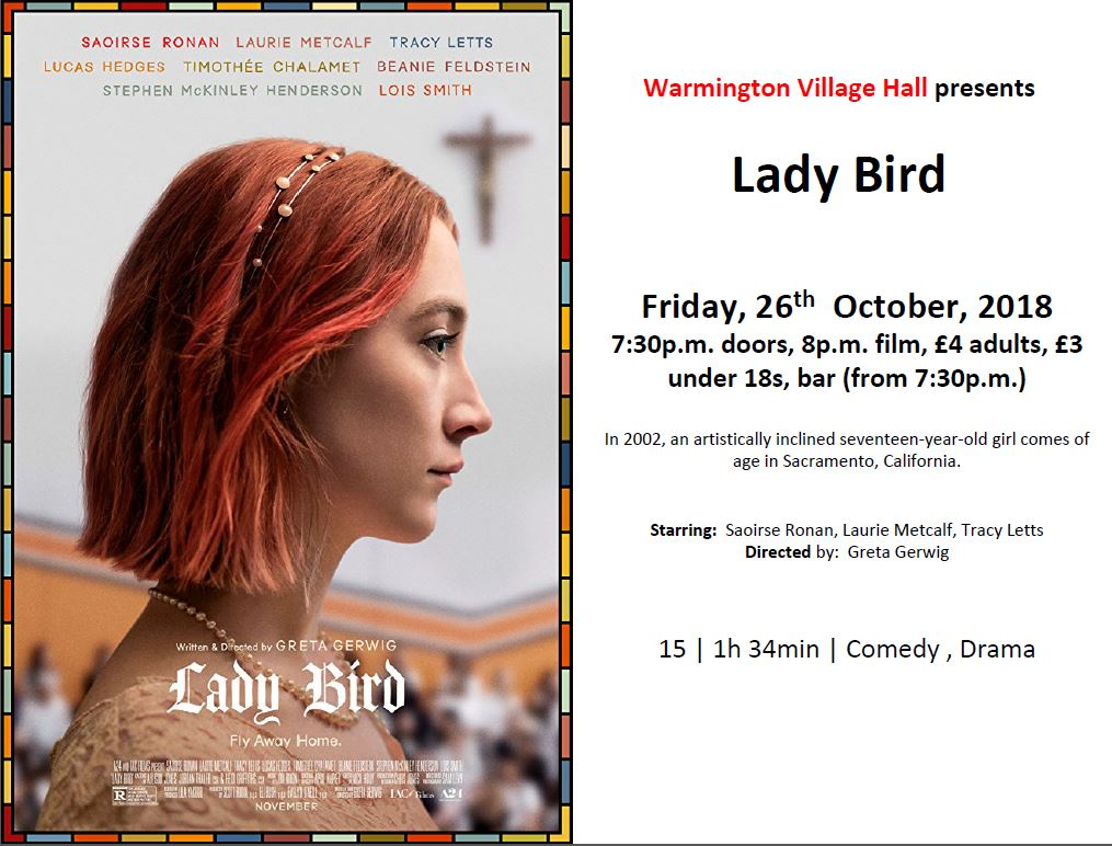 Film night Lady Bird