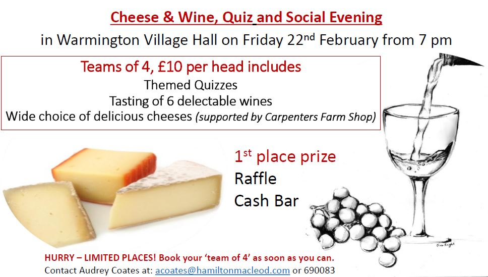 Quiz wine cheese